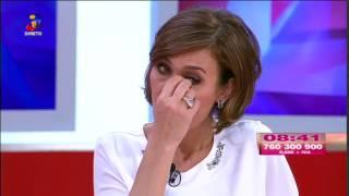 A história que deixou Fátima Lopes lavada em lágrimas