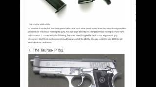 Top Ten Best 9mm Pistols in the world