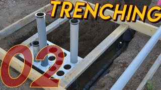 Trenching for Underground Electric