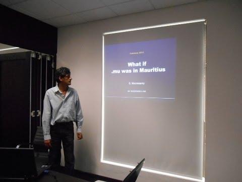 Linux User Group of Mauritius // .mu Domain Presentation Part I