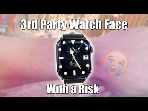 Apple Watch Downloading 3rd Party Watch Faces Is Sketchy