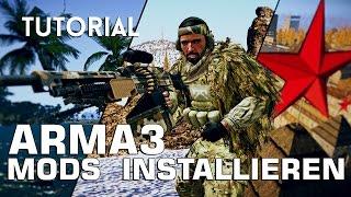 » ARMA3 MODS INSTALLIEREN « - Tutorial zum schnellen installieren von Mods.