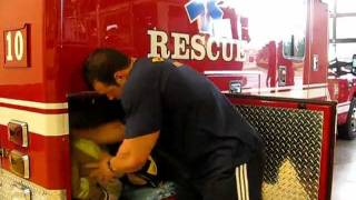A Day in the life of NPC bodybuilder STEVE KUCLO: FIREFIGHTER/PARAMEDIC (Part 1 of 3)