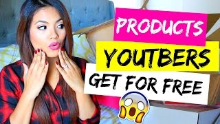 Products YouTubers Get For Free From Companies & Secrets How You Can Too!