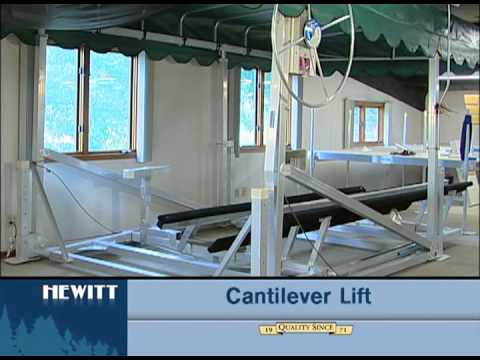 Identifying a vertical lift and a cantilever lift