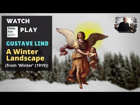 Gustave Lind : A Winter Landscape