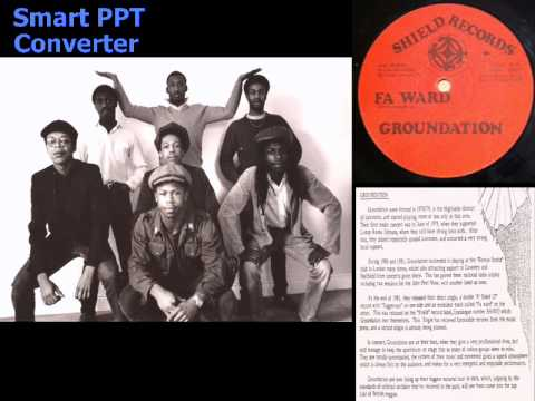 "Groundation Fa Ward 12"" on Shield 001"