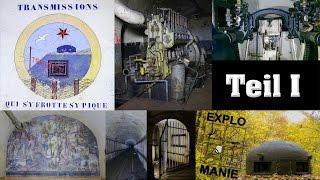 ♜ Lost Place ♜Alfons 6 Teil I, die vergessenen Künstler der ♜ Maginot - Linie ♜