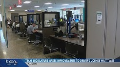 Driver license office wait times could change under new Texas law Q&A