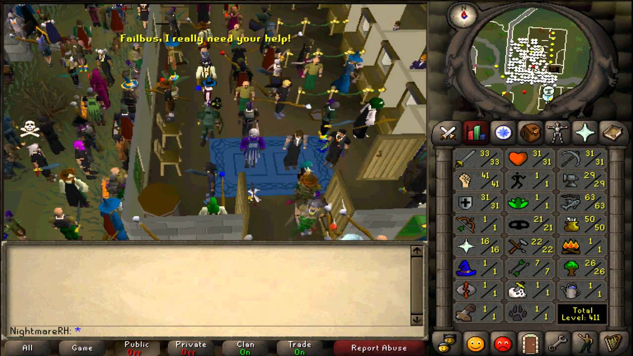 how to sell buy items on 2007 runescape youtube