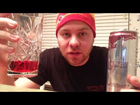 RED BULL TOTAL ZERO WILD CHERRY RED EDITION DRINK REVIEW | THE SHOWSTOPPER SHOWS