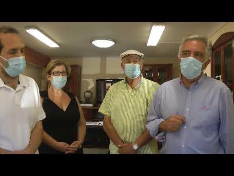 Επίσκεψη βουλευτή Δωδεκανήσου της ΝΔ Βασίλη Υψηλάντη στο Νοσοκομείο Καλύμνου