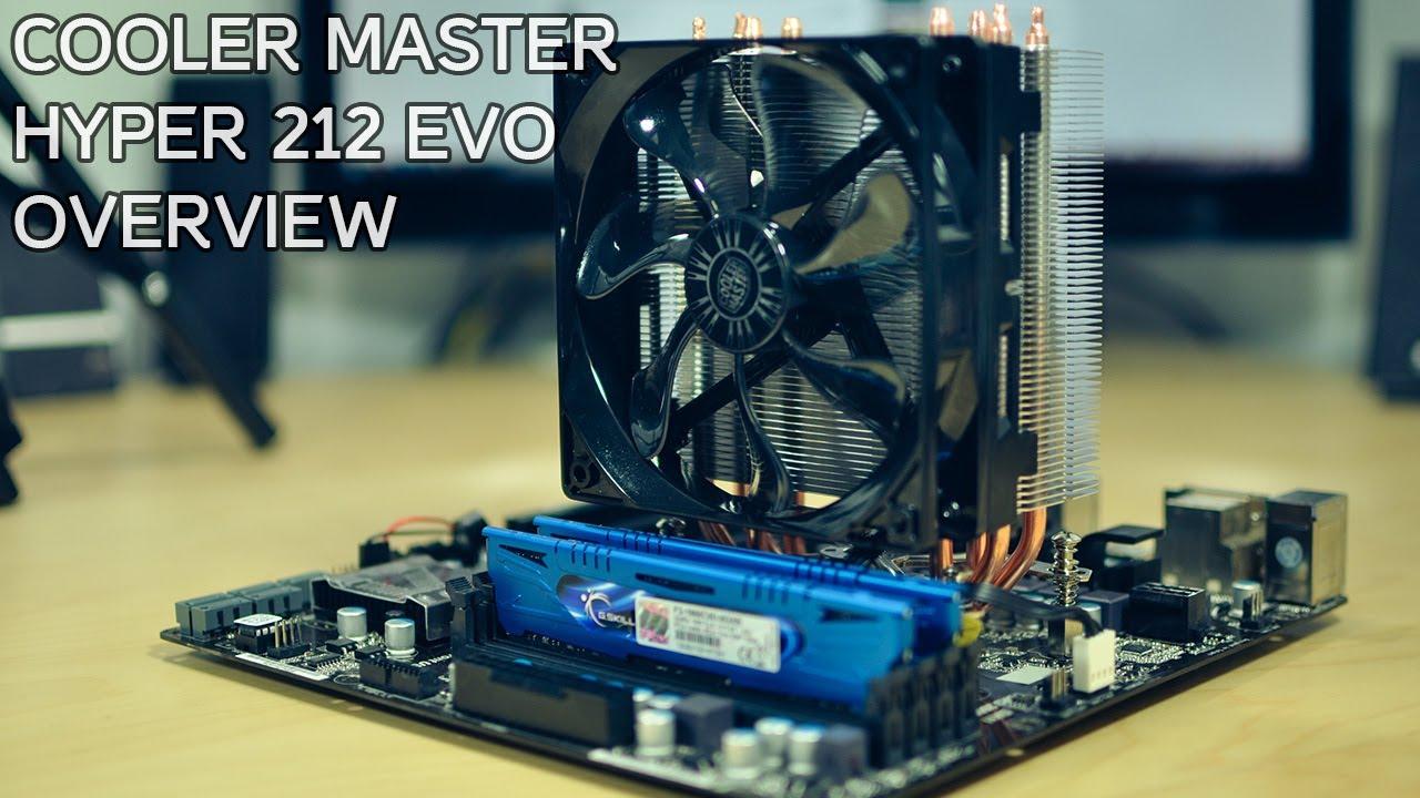 Cooler Master Hyper 212 EVO RR-212E-20PK-R2 CPU Heatsink Cooler for AMD Intel
