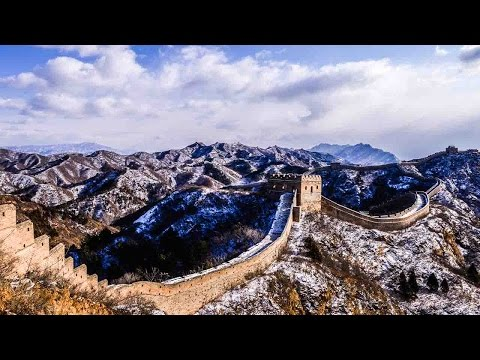 Spring snow turns Great Wall into winter wonderland