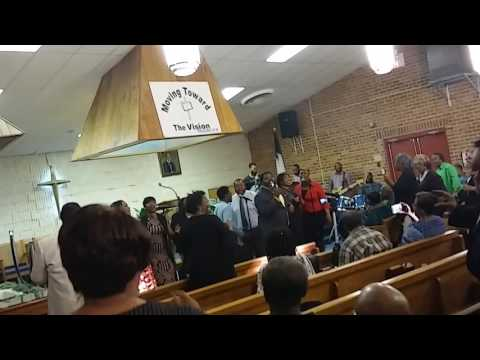 """James Hilliard and the Hilliard Ensemble singing""""I believe it's going to be alright"""""""