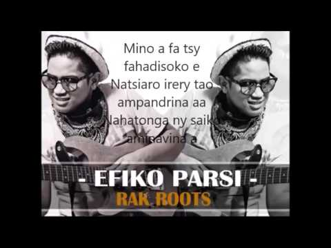 rak roots - efiko parsi lyrics (paroles)