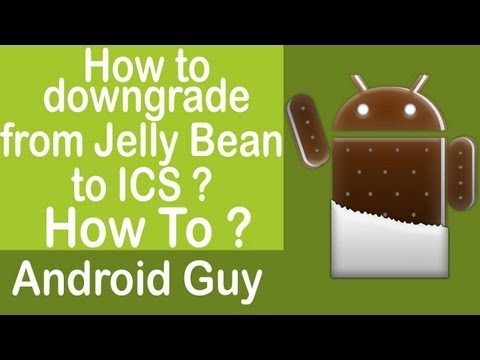 How to downgrade from Jelly Bean 4.1.2 to ICS 4.0.4 official stock rom on Galaxy Note 10.1 ?