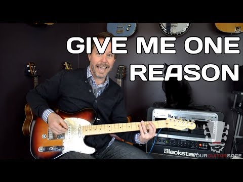 Give Me One Reason Tracy Chapman - Guitar Lesson with Erich Andreas