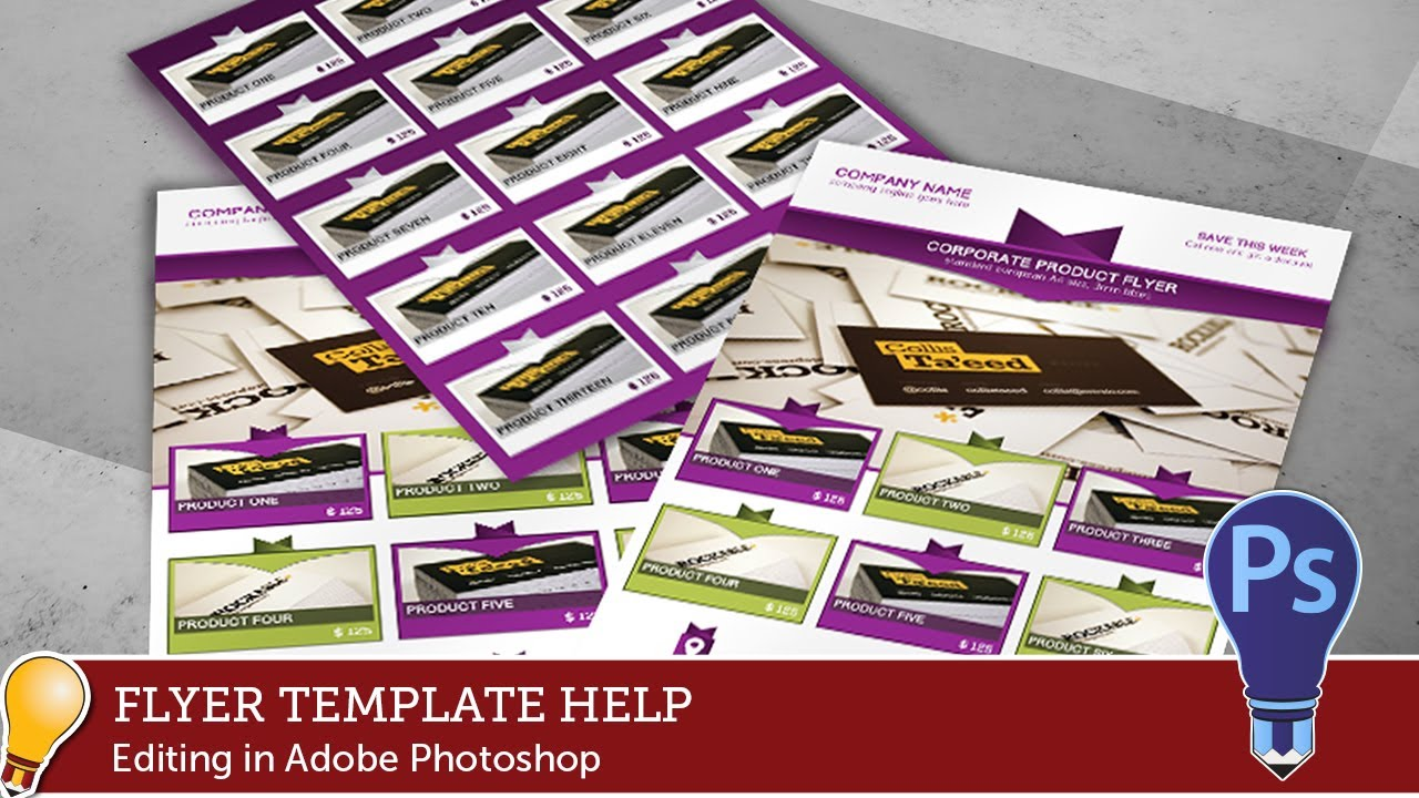 Corporate product promotion flyer template tutorial part 5 youtube corporate product promotion flyer template tutorial part 5 maxwellsz
