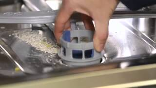 How to remove and clean your dishwasher filter