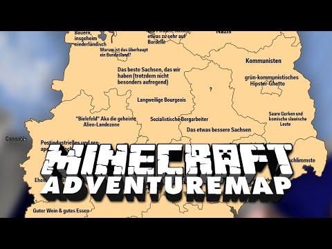 Vorurteile gegen Deutsche 🎮 MC Adventure Map Casual Parkour #3