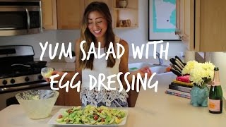 How To Make Yum Salad (laotian Style Egg Salad) | Lao Food | House Of X Tia