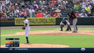 MLB: BAL AT DET - March 26, 2015