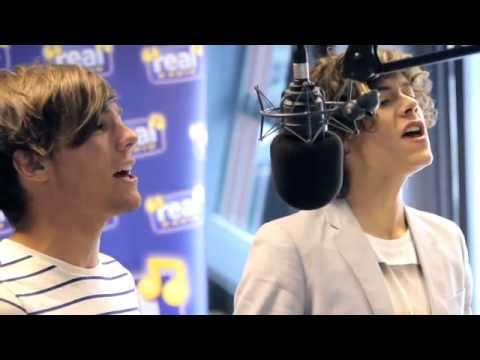 When someone turned up Louis's Mic In WMYB :D