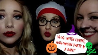 VLOG: Witch Event, Dailymix Halloween Party and a Rant | Away with the Fairies Thumbnail