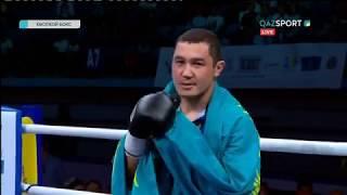 Кәсіпқой бокс. Арман Рысбек (3-0-0, 2КО) - Сандро Терашвили (4-1-0, 2КО)