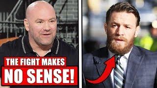 Dana White SHUTS DOWN Conor McGregor vs Frankie Edgar, UFC Boston weigh ins, Khabib Moscow presser