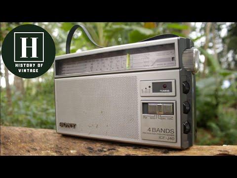 Sony ICF-J40 4 band radio | Made in Japan
