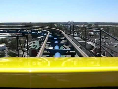Carolina Cyclone, Carowinds Theme Park- Front Seat