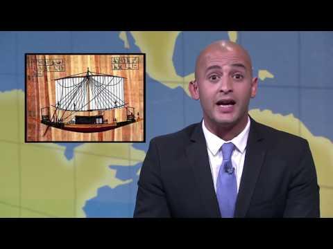أهم الانباء - حلقة منى زكي - SNL بالعربي