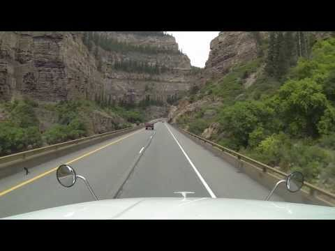 Estradas do Colorado Glenwood Canyon Parte 3