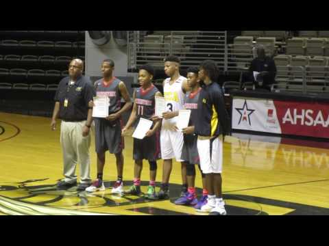 Cornerstone Boy`s Defeats Ellwood Christian Academy At Alabama State In 1A Alabama State Tournament