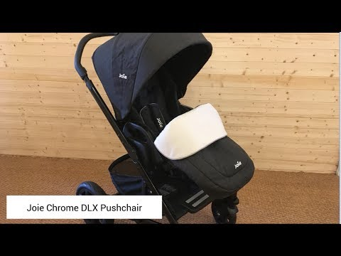 Joie Chrome DLX Pushchair Review | BuggyPramReviews