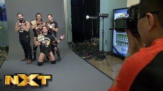 Behind the scenes of Undisputed ERA's championship photo shoot: NXT Exclusive, April 18, 2018