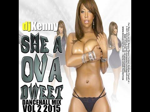 DJ KENNY SHE A OVA DWEET DANCEHALL MIX VOL 2. JAN 2015