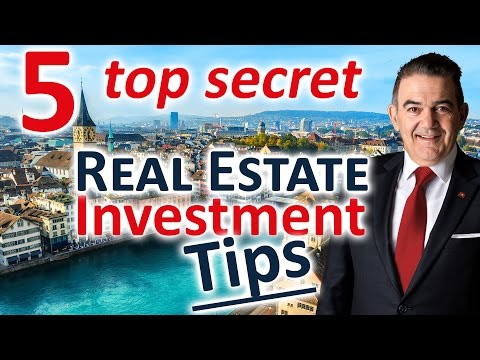 Best Place to invest in property - [5 secret investor tips] for Swiss property