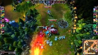 League of Legends WTF Moment Jinx&Sion Ult
