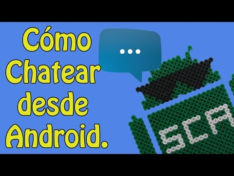 Cómo Chatear Desde Android - AndroIRC