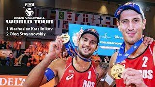 Пляжный Волейбол | Финал Мирового Тура | Красильников / Стояновский vs. Виклер / Толе