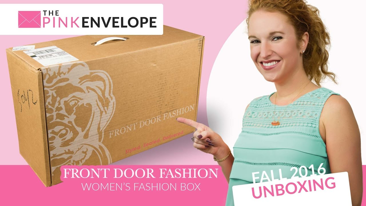 Front Door Fashion Review & Unboxing - YouTube