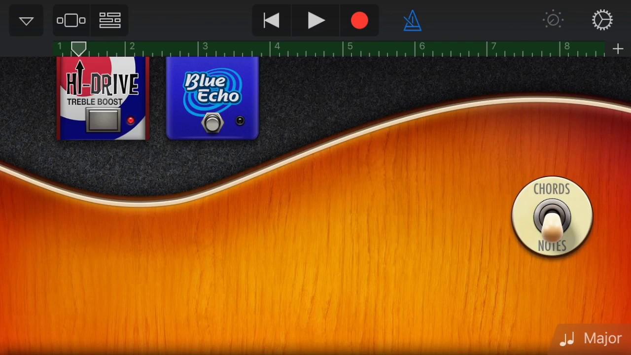 GarageBand on iPad and iPhone