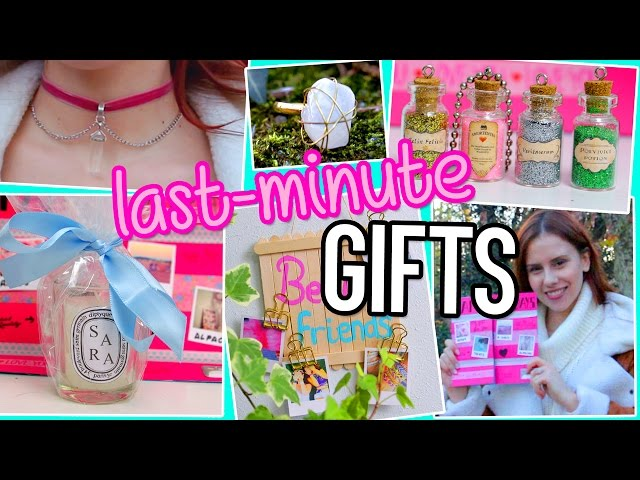 last minute diy gifts ideas you need to try for bff boyfriend parents birthdays christmas mxico video topkaru