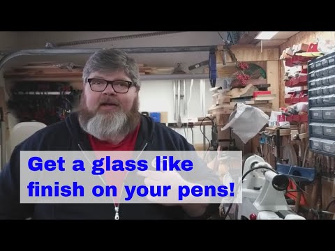How To Get A Smooth As Glass CA Finish For Your Pens