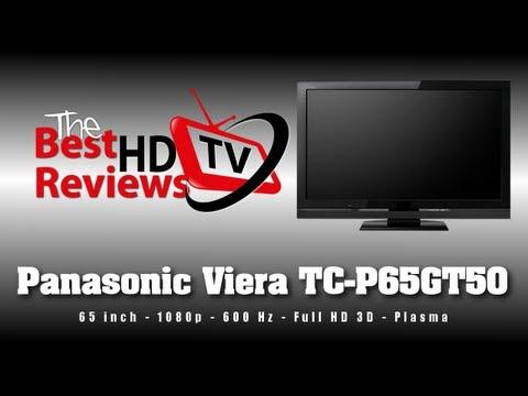 Panasonic Viera GT50 65 Inch Plasma HDTV Review TC-P65GT50