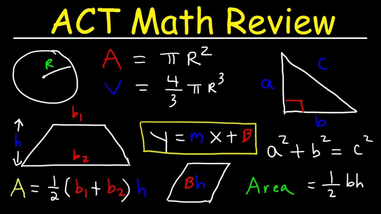 Download ACT Math Test Prep
