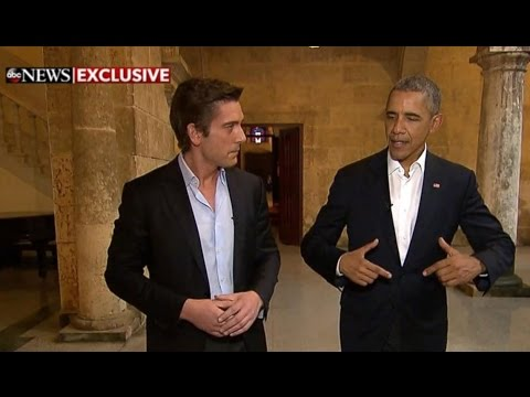 Obama Begins Historic Cuba Visit